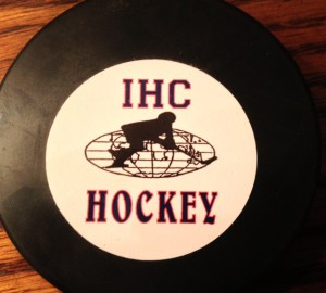 ihc hockey puck